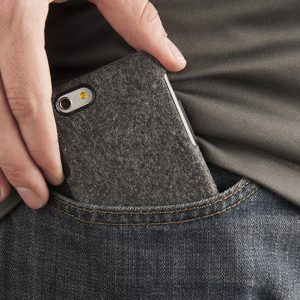 wool felt phone case